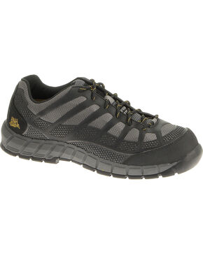 CAT Footwear Men's Streamline Composite Toe Work Shoes, Charcoal Grey, hi-res