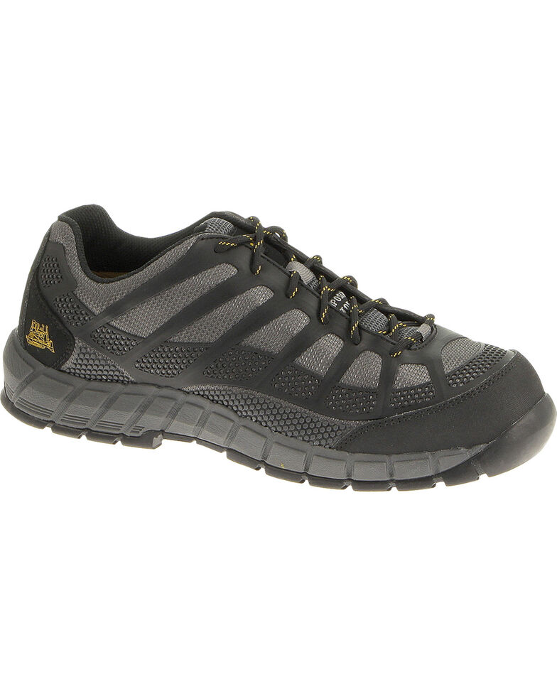 CAT Footwear Men's Streamline Composite Toe Work Shoes, Charcoal Grey, hi-res