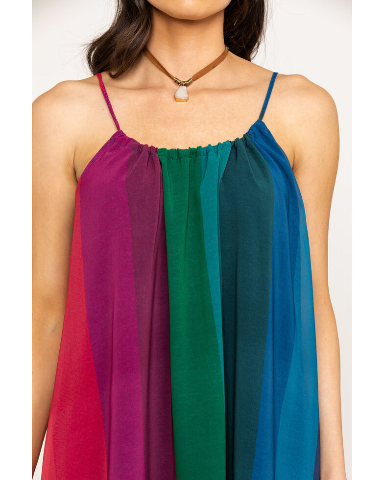 Show Me Your Mumu Women's Caroltta Madly Stripe Mini Dress , Multi, hi-res