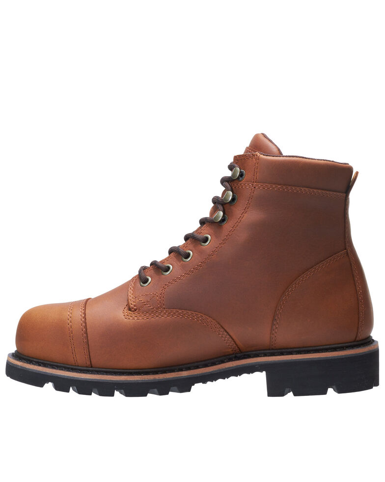 Wolverine Men's Journeyman Work Boots - Composite Toe, Brown, hi-res