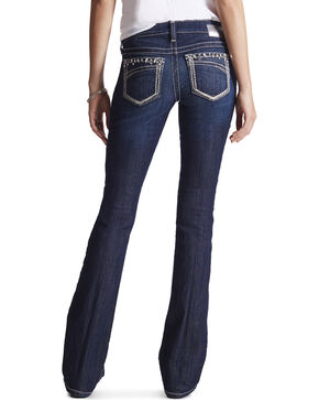 Ariat Women's Blue Ruby Stardust Celestial Jeans - Boot Cut, Blue, hi-res
