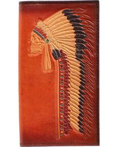 Ariat Chief Bifold Wallet, Tan, hi-res