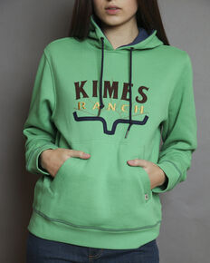 Kimes Ranch Women's Southwest Hoodie , Green, hi-res
