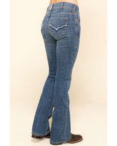 Ariat Women's R.E.A.L Sparrow Bootcut Jeans , Blue, hi-res