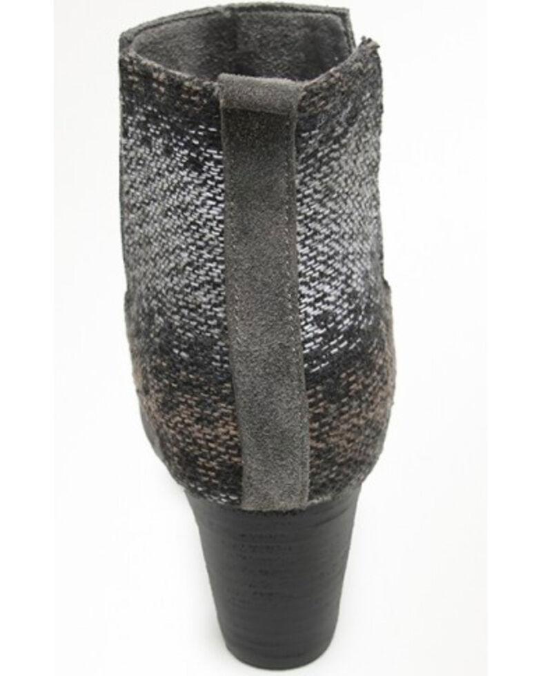 Minnetonka Women's Mari Suede Booties - Round Toe, Charcoal, hi-res