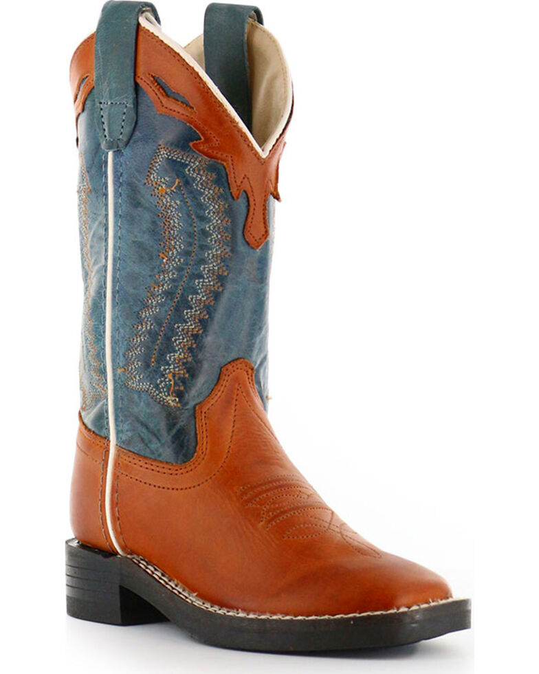 Cody James Boys' Western Boots - Square Toe, Brown, hi-res