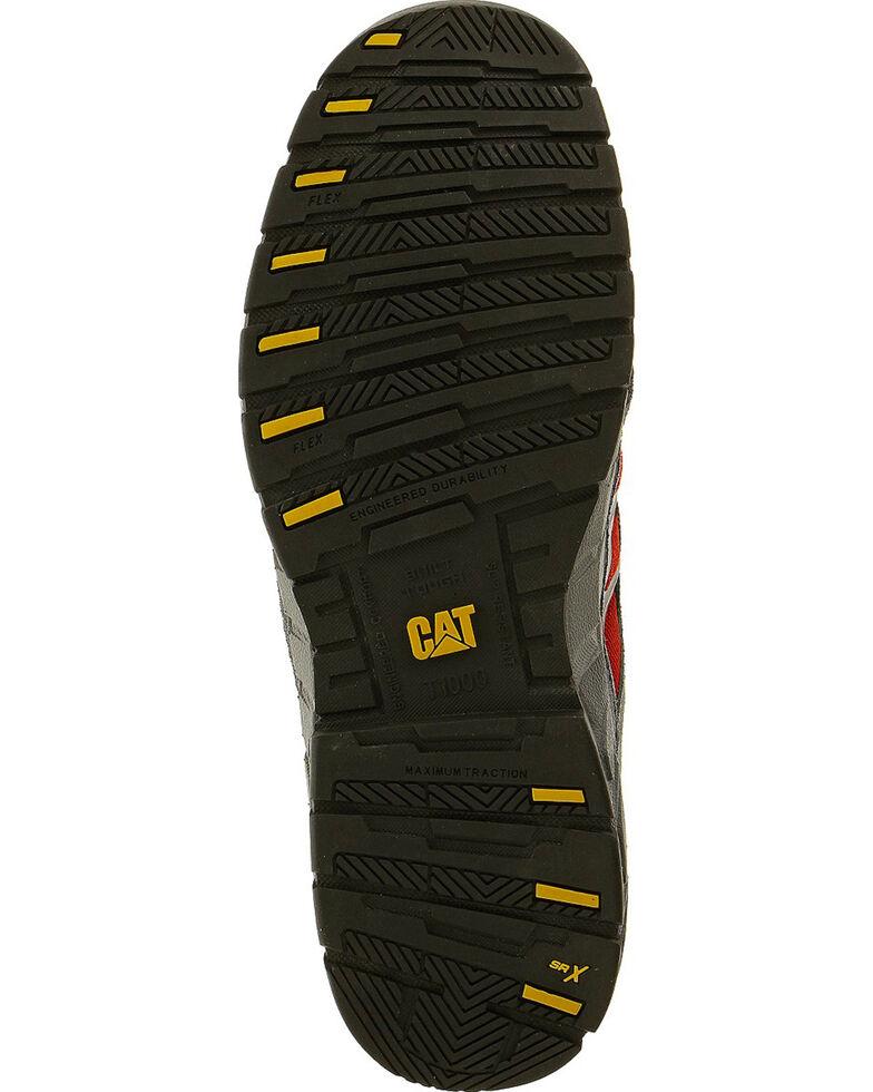 Caterpillar Men's Infrastructure Black Work Shoes - Steel Toe , Black, hi-res