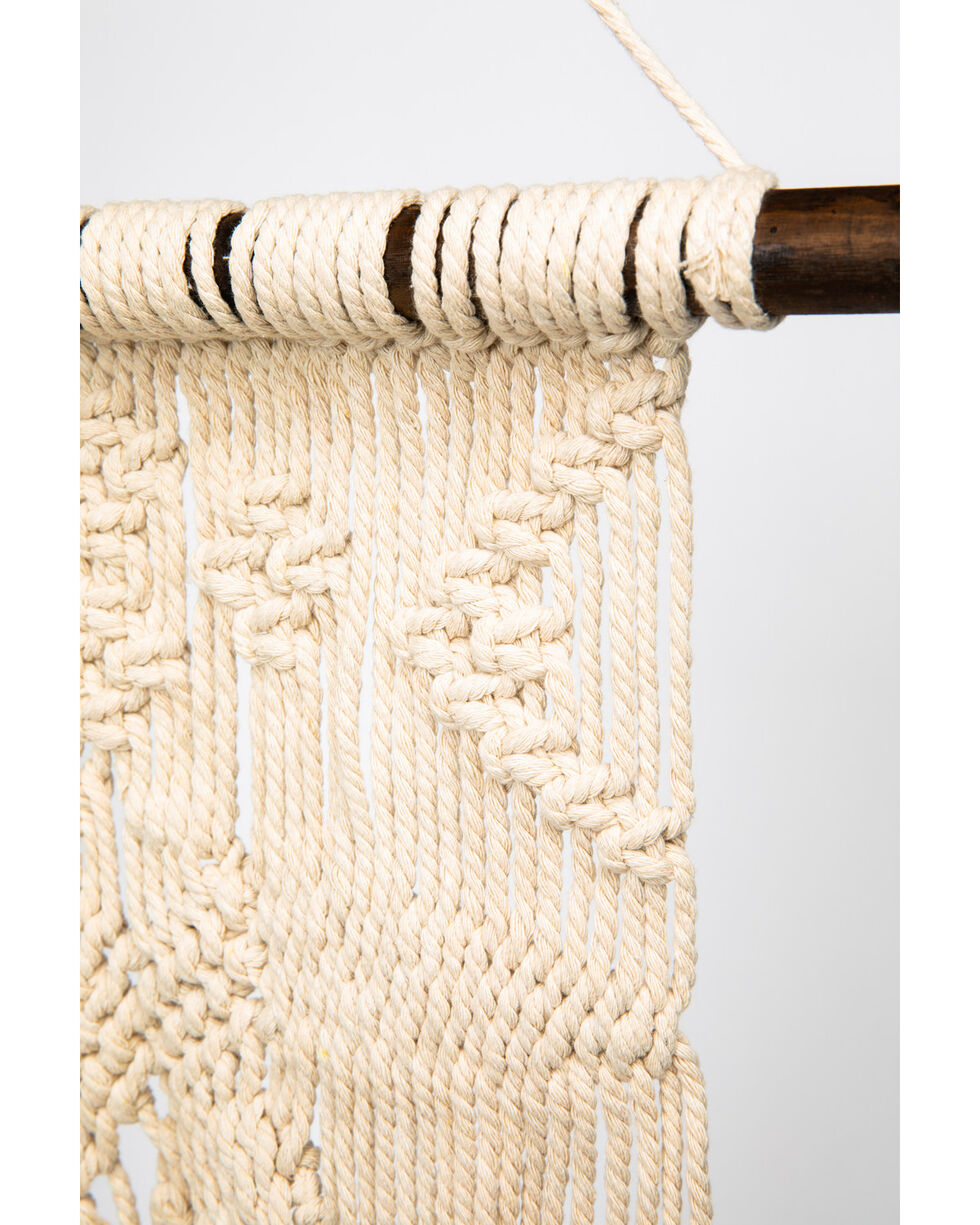 BB Ranch Longhorn Macrame, White, hi-res