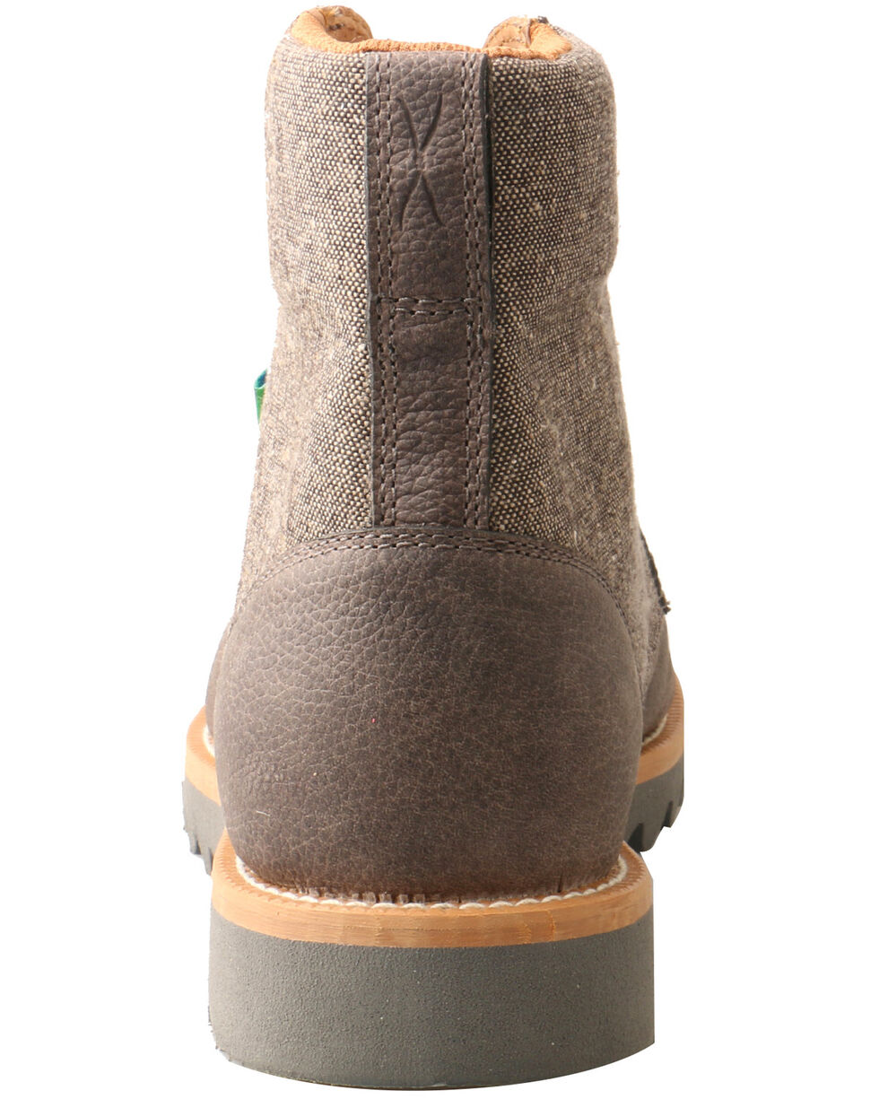Twisted X Men's ECO TWX Wedge Sole Boots - Moc Toe, Grey, hi-res