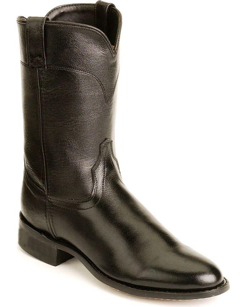 Jama Men's Corona Roper Boots, Black, hi-res