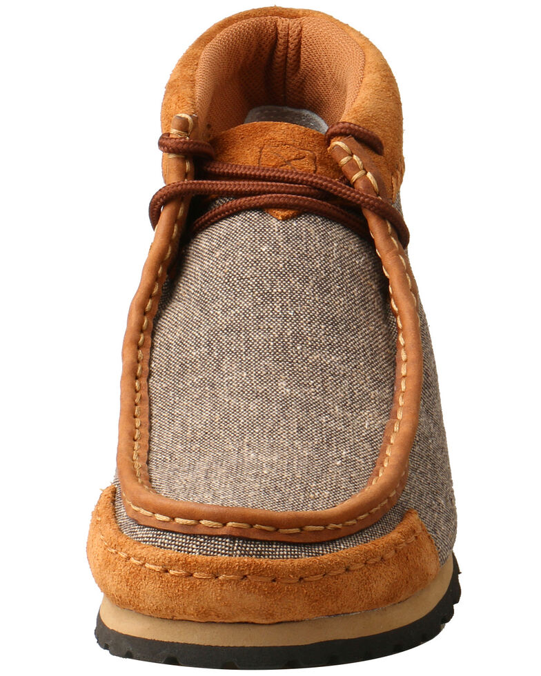 Twisted X Men's ECO-TWX Outdoor Shoes - Moc Toe, Grey, hi-res