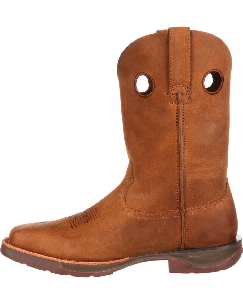 c0c721bbfd9 Rocky Men's Brown Roper Western Boots - Square Toe