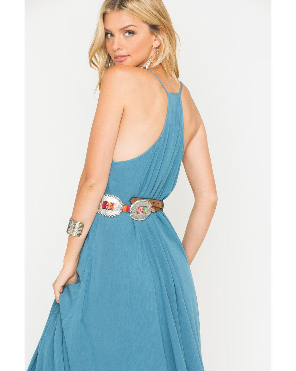 Ariat Women's Erica Ladder Lace Dress, Blue, hi-res
