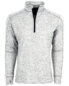STS Ranchwear Men's Lightweight Quarter Zip Pullover , No Color, hi-res