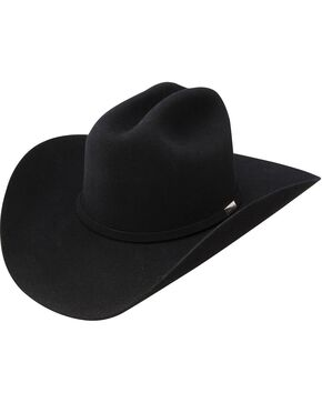 Resistol 6X George Strait The Cowboy Rides Away Felt Hat, Black, hi-res