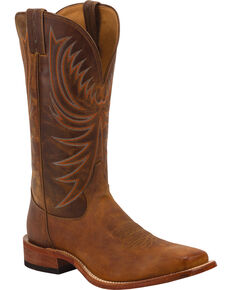 Tony Lama Men's Americana Western Boots, Honey, hi-res
