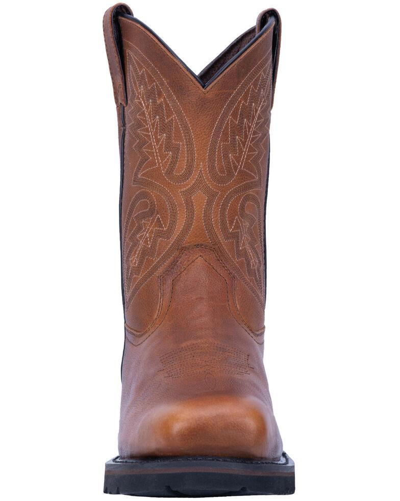 Laredo Men's Colfax Western Work Boots - Steel Toe, Brown, hi-res