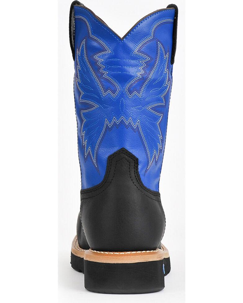 Cinch Men's Neon Composite Toe Western Work Boots, Black, hi-res