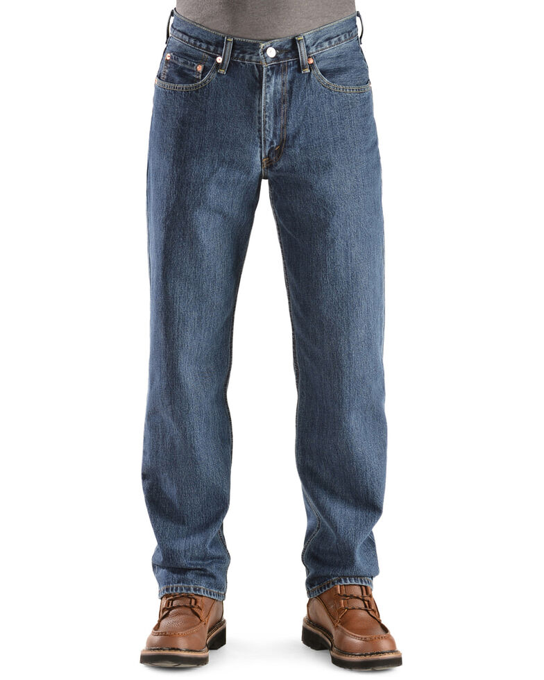Levi's Men's 550 Prewashed Relaxed Tapered Leg Jeans , Dark Stone, hi-res