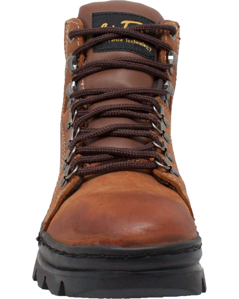 """Ad Tec Women's 6"""" Leather Work Hiker Boots - Soft Toe, Brown, hi-res"""
