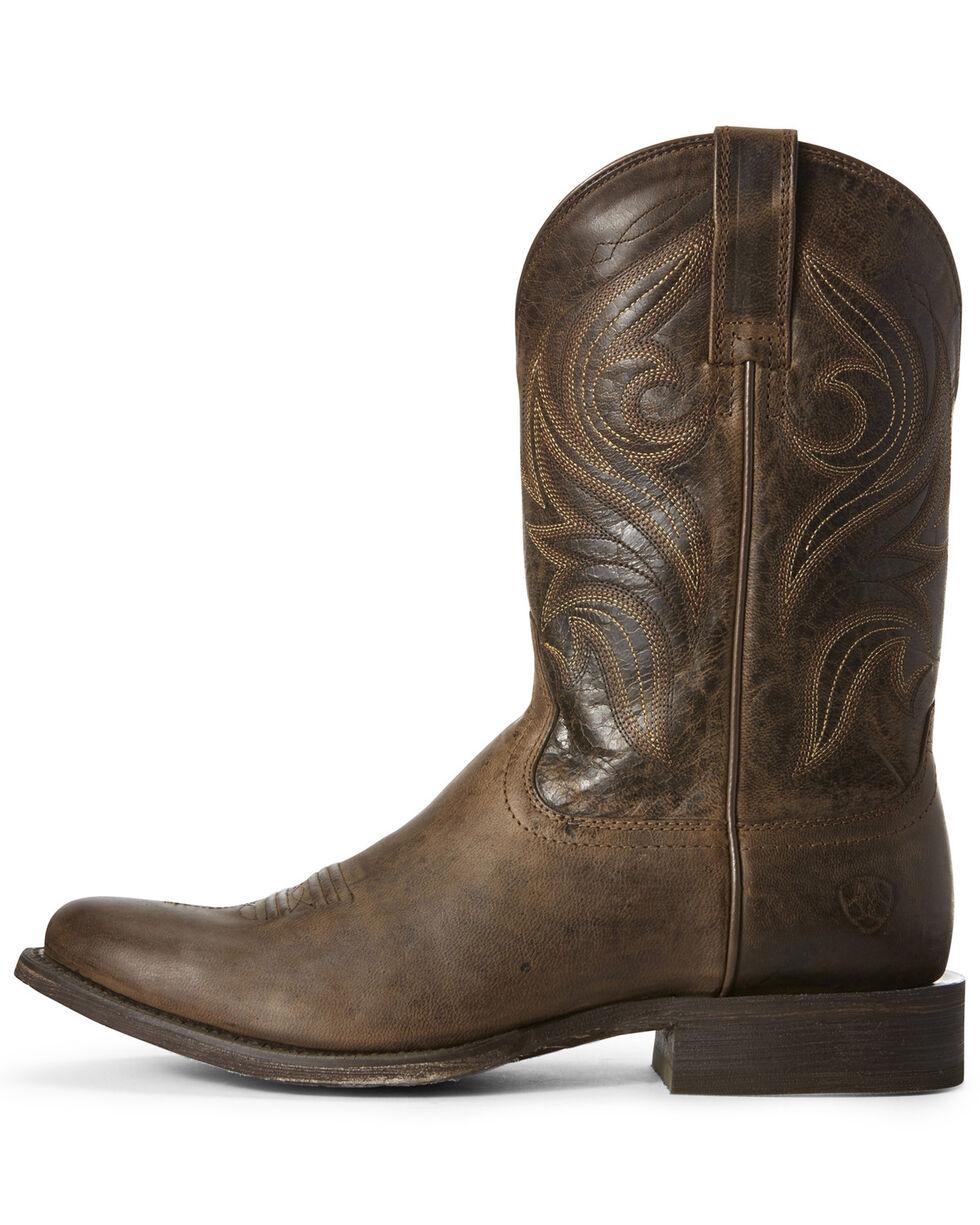 Ariat Men's Circuit Wildhorse Western Boots - Round Toe, Brown, hi-res
