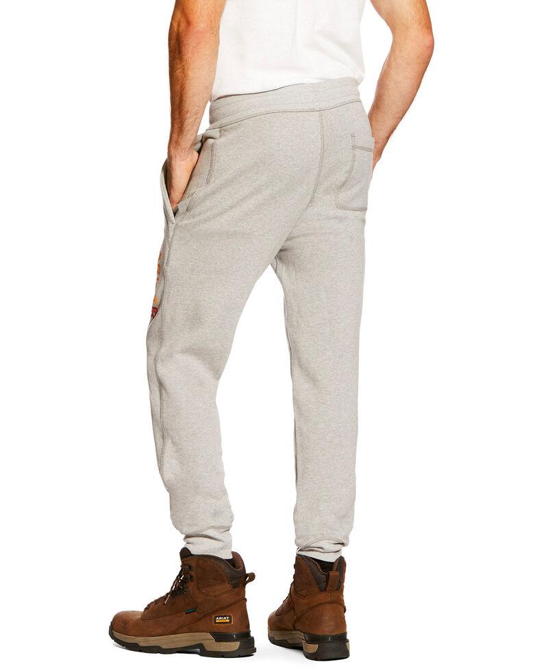 Ariat Men's FR Work Sweatpants, Heather Grey, hi-res