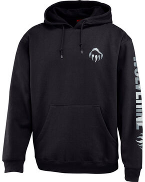 Wolverine Men's Graphic Hoodie, Black, hi-res