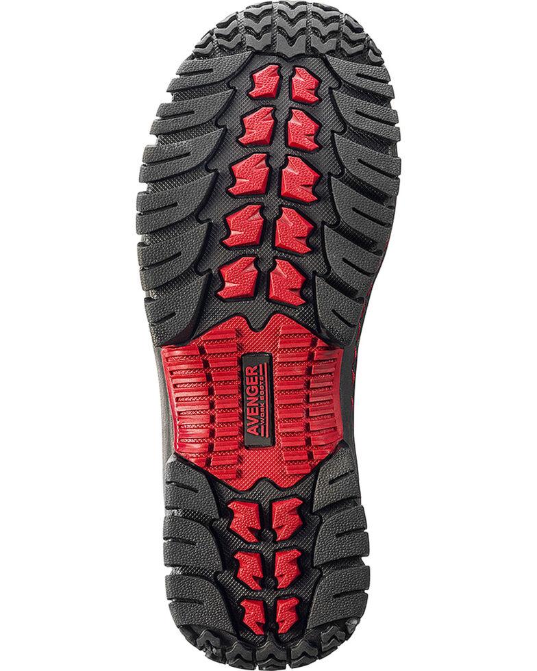 Avenger Men's Waterproof Hiker Work Boots - Steel Toe, Black, hi-res