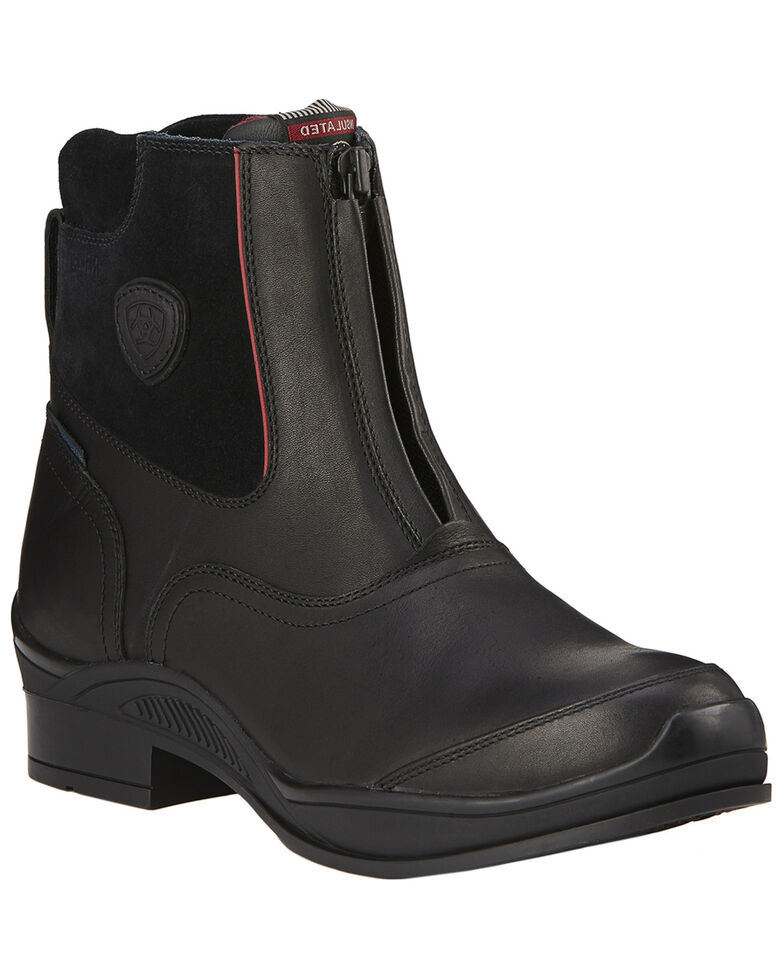 Ariat Men's Extreme Zip H20 Insulated Boots, Black, hi-res