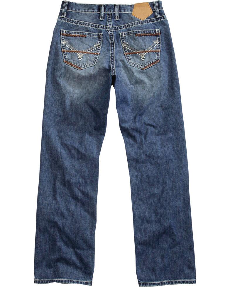 Tin Haul Men's Medium Wash Regular Joe Fit Bootcut Jeans, Indigo, hi-res