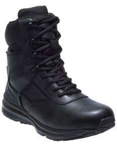 Bates Men's Raide Waterproof Work Boots - Soft Toe, Black, hi-res