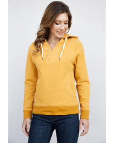 Kimes Ranch Women's Squash Private Idaho Hoodie, Light Orange, hi-res