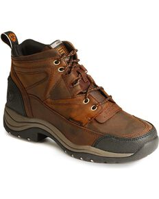 Ariat Women's Terrain H2O Endurance Boots, Copper, hi-res