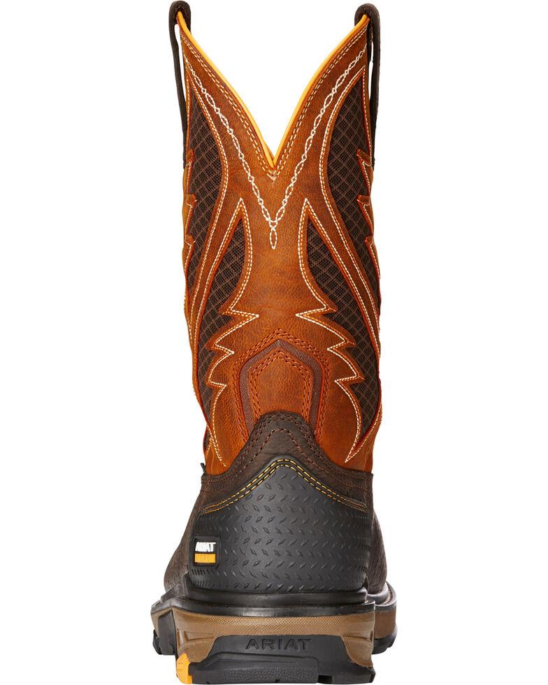 a18503d76cf Ariat Men's Orange Intrepid VentTEK Work Boots - Composite Toe