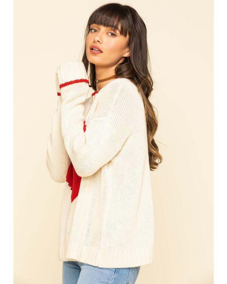 Show Me Your Mumu Women's Sweetheart Sweater, Ivory, hi-res