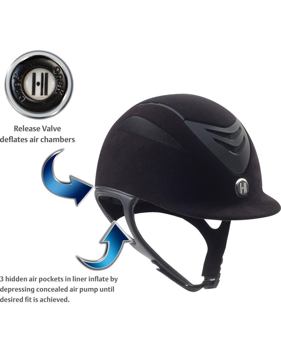 One K Defender AIR Suede Helmet, Black, hi-res