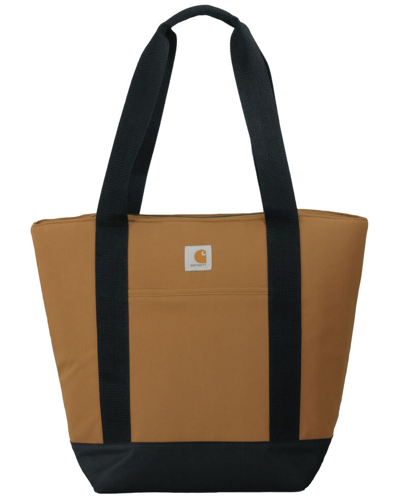 Carhartt Men's Insulated Backpack Tote, Brown, hi-res