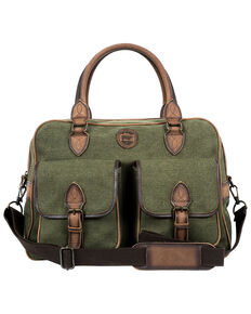 STS Ranchwear By Carrol Men's Military Green Weekender Bag, Olive, hi-res