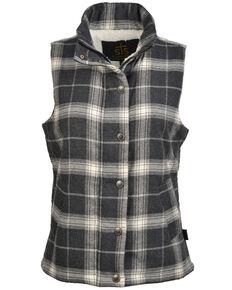 STS Ranchwear Women's Aspen Vest, Black/white, hi-res