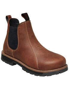 Keen Women's Seattle Romeo Work Boots - Aluminum Toe, Brown, hi-res