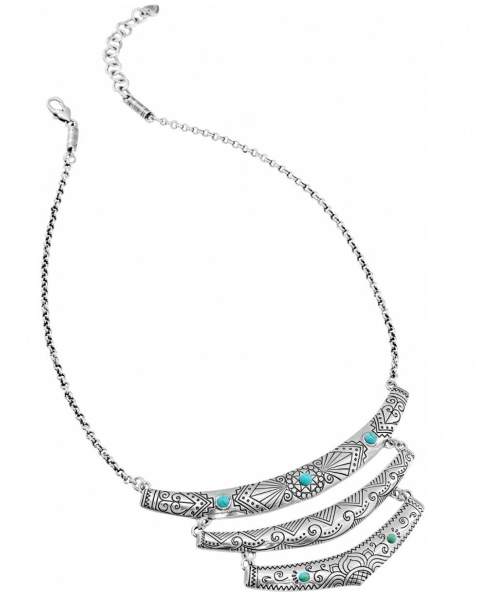 Brighton Women's Navajo Triple Etched Necklace, Silver, hi-res