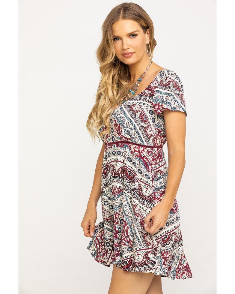 Idyllwind Women's Wild at Heart Dress, Burgundy, hi-res