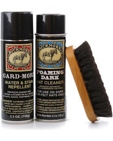 Bickmore Dark Foaming Hat Care Kit, Black, hi-res