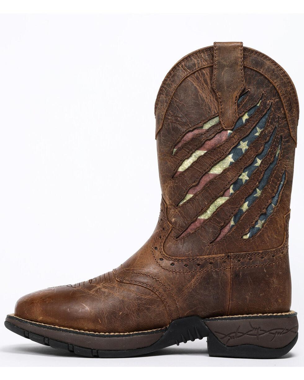 Cody James Men's Xero Patriotic Western Boots - Square Toe, Brown, hi-res