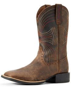 Ariat Men's Sport Western Boots, Brown, hi-res