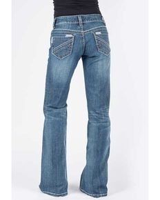 Stetson Women's Medium Aztec 214 City Trouser Jeans, Blue, hi-res
