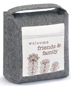Demdaco Friends & Family Door Stopper , Black, hi-res