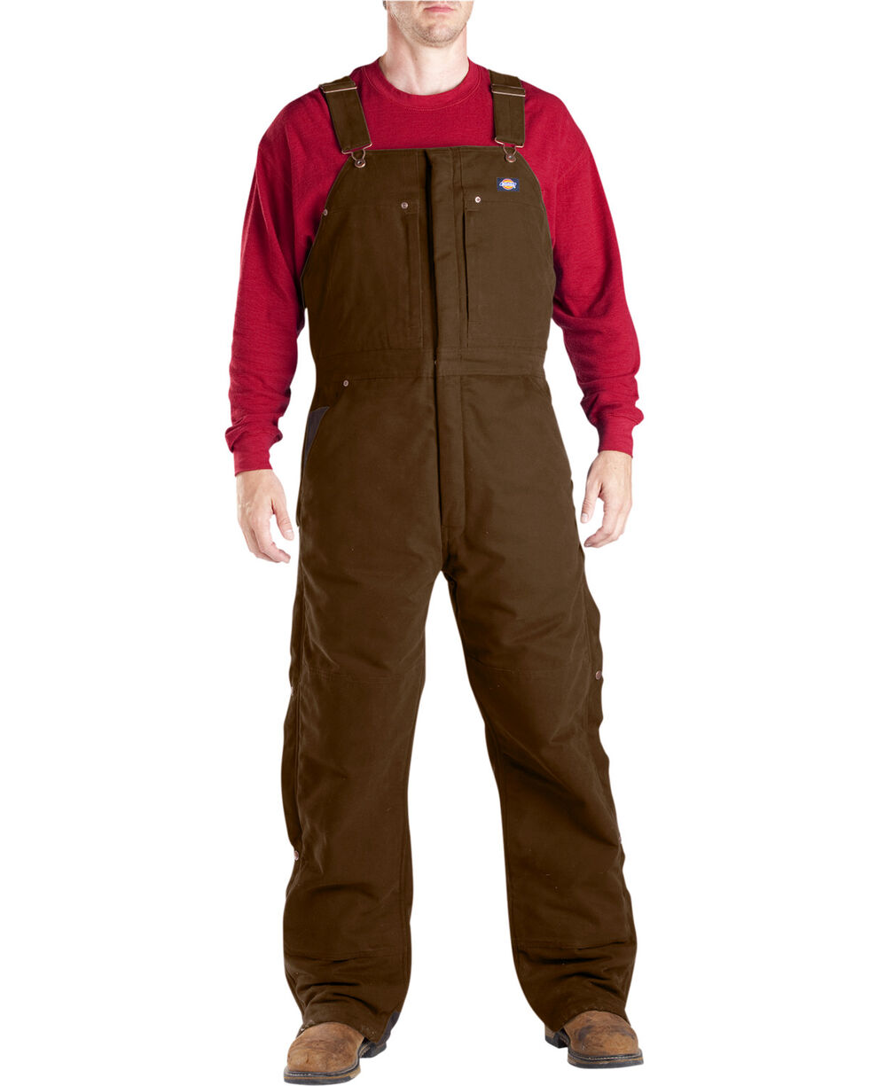 Dickies ® Sanded Duck Overalls - Big & Tall, Timber, hi-res