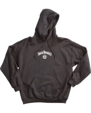 Jack Daniel's Men's Three Bottles Hoodie, Black, hi-res