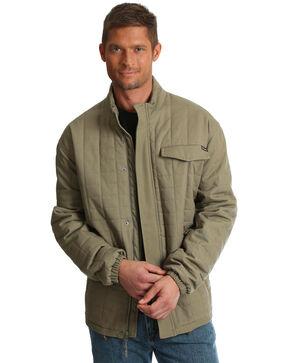 Wrangler Men's Beige Chore Jacket, Beige/khaki, hi-res
